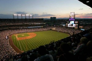 Coors Field in Colorado