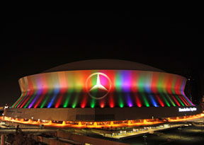 2013-Super-Bowl-Superdome-night